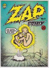 Zap Comix #0 F+ 6.5 Robert Crumb Art Apex Second Print!