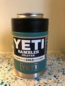 YETI Rambler 12 oz Colster RIVER GREEN Can Insulator - 1st Gen