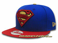 SUPERMAN NEW ERA DC COMIC ART TEAM Snapback CAP MARVEL SUPERHEROES COMIC CAPS