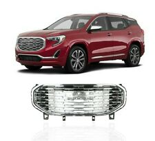 Fits GMC Terrain 2018 2019 2020 Front Upper Grille Assembly Chrome Denali Style