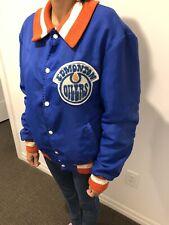 Edmonton Oilers Jacket Vintage 1980's - Used Condition