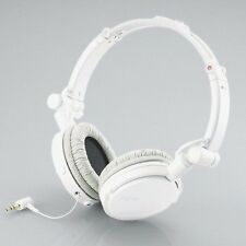ELECOM 11108 WHITE Xcalgo Overhead-Type Foldable Headphones Original / Brand New