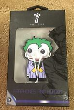 DC Comics The Joker Googley Eyes Ear Buds Phones And Holder New In Case!