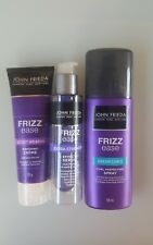 JOHN FREIDA FRIZZ EASE VALUE PACK - 3 ITEMS  Creme, Serum and Perfecting Spray.