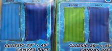 "Set of 2 SurfGear Classic 29"" X 45"" Canvas Raft/Float  Surf Rider Like Intex"