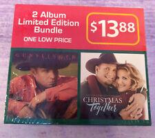 Gunslinger / Christmas Together Garth Brooks Trisha Yearwood Two CD Set NEW