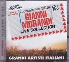 CD + Dvd «GIANNI MORANDI • LIVE COLLECTION • 07 LUGLIO 1983» nuovo