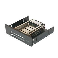 """LogiLink 5,25"""" Wechselrahmen für 2x 2,5"""" HDD Festplatten  Mobile Rack MR0007"""