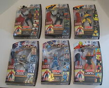 MARVEL LEGENDS SET OF SIX RED HULK BAF SERIES Action Figures