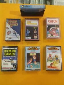 COMMODORE 64 STOCK GIOCHI VINTAGE