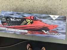 """DISCONTINUED Proboat Valvryn 25"""" F1 Tunnel Hull Self-Righting RC Boat PRB08033"""