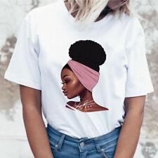 African Queen/Nubian Queen/Afro Puff White Tshirt