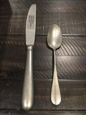 Chef & Sommelier Renzo Patina Teaspoon & Dinner Knife (2) New