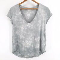 American Eagle Outfitters AEO Sz XS Soft & Sexy Gray Sage Tie Dye Shirt Top