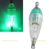 LED Deep Drop Underwater Fishing Squid Fish Lure Light Flashing Bait Lamp Hook