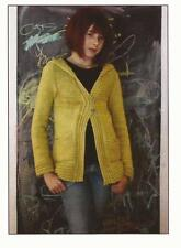 The Shetland Trader Knitting Pattern Kerrera for Kids Bottom-Up Hooded Cardigan