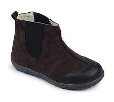 NIB See Kai Run Mateo Brown leather Boots Shoes Sz: 10