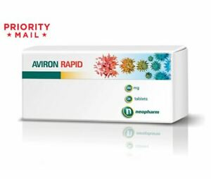 AVIRON RAPID 360 mg. Flu and Acute Viral Infections,Immune System Support 24 tab
