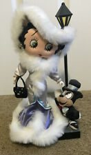 "1999 Betty Boop ""Steppin' Out"" Soft Sculpture Doll Series 12"" Limited editition"