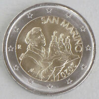 2 Euro Kursmünze San Marino 2020 unz