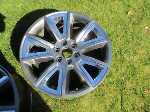 22'' Sierra Silverado Suburban Tahoe 1500 Silver Wheel Rim OEM 5696 #4