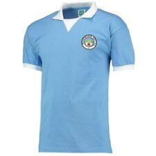 Maillot de football de clubs anglais bleus Manchester City