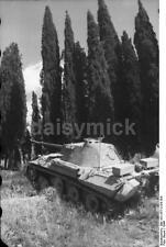 German Army Panzer Tank V Panther Italy 1944 World War 2, Reprint Photo 6x4 Inch