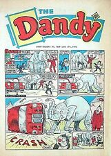 DANDY - 17th JANUARY 1970 (13 - 19 Jan) - YOUR WEEK OF BIRTH ?? VG+ beano topper
