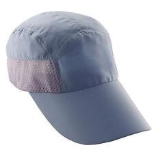 Womens Removeable Face-Neck Flap Hat-Tennis-Sports-Jogging-Summer Sun Cap-Purple