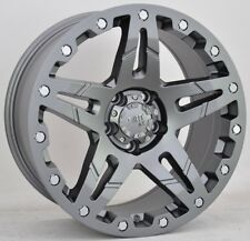 Suciedad D66 9x18 6x114, 3 LLANTAS + Neumáticos BF GOODRICH KO2 265/60/18