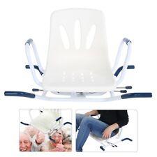 360 Degree Rotate Bathing Swivel Chair Rotating Bath Seat for Disability Aid