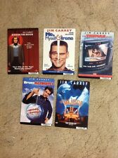 8x5.5 inch Dvd Backer cards. MINI POSTER no dvd 5 Jim Carrey Man On The Moon. !