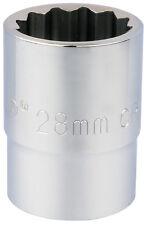 ORIGINAL DRAPER 1.9cm embout carré 12 points Douille (28mm) 16697