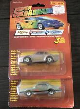 Matchbox Super Color Changers LOT of 2, Ford T-Bird And Porsche 959.