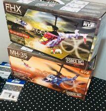 Horizon Hobby RC forza MH35 FHX Bundle Combo accessori + 2X elicottero a rotori coassiali