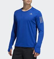 Adidas Own The Run Longsleeve Shirt Men's Collegiate Royal Size Medium