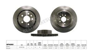 Disc Brake Rotor-Standard Brake Rotor Rear Best Brake GP34263 fits 2002 Saab 9-5