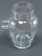 bocal a cerises a l'eau de vie en verre bullé/french antique cherry liquor bowl