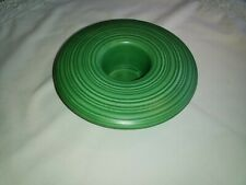 VINTAGE ART DECO STYLE FLYING SAUCER DESIGN BUD VASE.