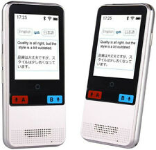 Smart Voice Language Translator Device Real-time Two-Way Offlin Speech/Text WiFi