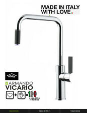 33%OFF ABEY ArmandoVicario  Luz Pull-out Chrome Kitchen Sink Mixer MADE IN ITALY