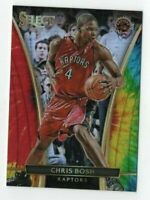 Chris Bosh 2015-16 Panini Select Tie-Dye Refractor /25 Card # 289 Miami Heat