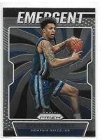 Brandon Clarke Rookie 2019-20 Prizm Emergent #28 Gonzaga Memphis Grizzlies RC