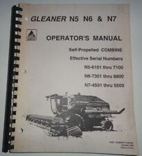 Heavy equipment manuals books for agco combine ebay agco gleaner n5 6101 7100 n67301 8800 n7 publicscrutiny Images
