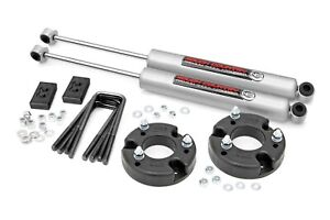 """Rough Country 2"""" Leveling Lift Kit w/N3 Shocks for 2009-2020 Ford F-150 52230"""