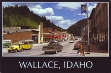 Continental-size Wallace, Id. The Silver Capital of the World Yellow Shuttle