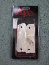 Ajax Custom Pistol Handgun Grips Colt 1911 1991 Clones White Pearlite 12-WP NEW