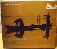 STEPHAN MICUS - GARDEN OF MIRRORS - CD ECM New Unplayed
