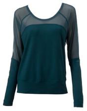 NEW Soybu Women's Micro Mesh Yoga Suzette Doman Size Large $55 Retail