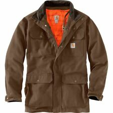 NEW! CARHARTT Field Coat Quilt Lined COFFEE 103289-205 XL